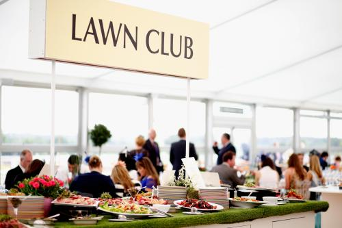 The Lawn Club. In a private enclave of the Queen Anne Enclosure